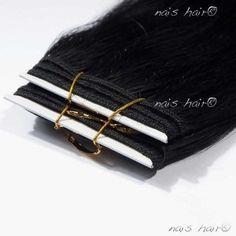 Hair Weft #1 (Jet Black)  #hair $92.95