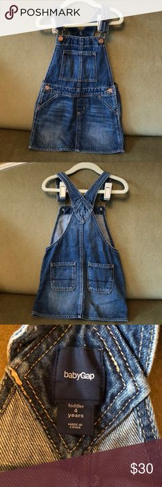 Gap kids skirt overalls NWOT- only washed never worn GAP Other