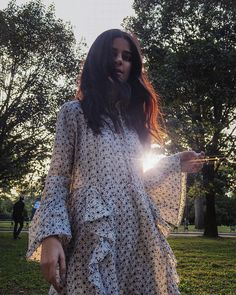 Prairie Girl  @lainyhedaya in the Malibu Embroidered Dress #SJsisterhood  Link in bio