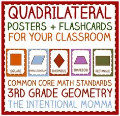 Hidden Picture - Color all the quadrilaterals | 2nd Grade Math ...