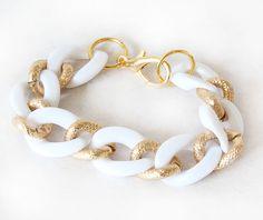CHAIN LINK bracelet from #madebygirl