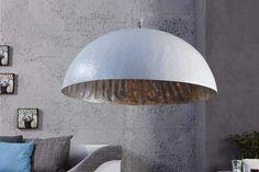 GLOW fehér és ezüst függőlámpa 50cm #lakberendezes #otthon #otthondekor #homedecor #homedecorideas #homedesign #furnishings #design #furnishingideas #housedesign #livingroomideas #livingroomdecorations #decor #decoration #interiordesign #interiordecor #interiores #interiordesignideas #interiorarchitecture #interiordecorating #metaldesign #metaldecoration #metalinterior #metaldecor #metalfurniture #metalbedframe Glow, Light In, Aluminium, Metal, Decoration, Elegant, Designer, Minimalism, Ceiling Lights