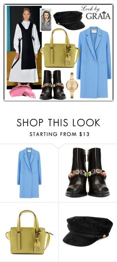 """""""88"""" by graiastyle ❤ liked on Polyvore featuring Harris Wharf London, Fendi and Michael Kors"""