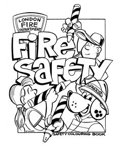 Cute Safety Coloring Pages 40 Knack Fire Safety Coloring