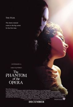 The Phantom of the Opera 2004 Movie Poster
