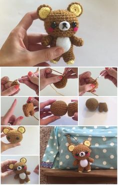 How to Make Rilakkuma Crochet | UsefulDIY.com