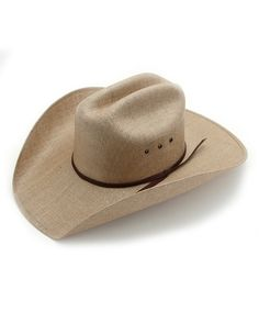 1b9750aa567 Rodeo King Rancher Fine Jute Straw Hat in Chocolate