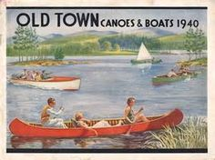 vintage canoe ads - - Yahoo Image Search Results