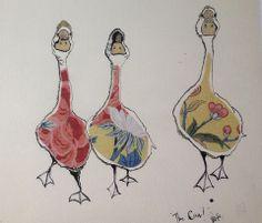 Artist inspiration- Anna Wrigth.