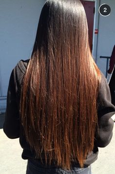 my hair before I chopped it off
