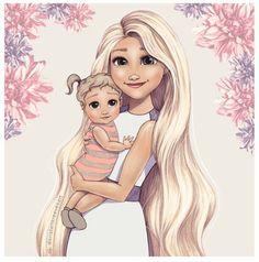 If Rapunzel had a baby girl