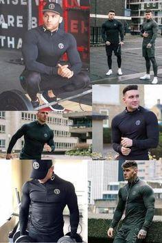 Quick Dry Compression Shirt Long Sleeves T shirt Plus Size Fitness Clothing Solid Colorquick Dry Bodybuild Crossfit Mens Onesie, Plus Size Workout, Mens Trends, Mens Activewear, Mens Clothing Styles, Quick Dry, Long Sleeve Shirts, T Shirt, Sleeves
