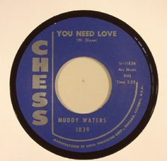 Muddy Waters | Howlin Wolf - You Need Love (Chess) #vinyl #records #vinylrecords #dj #music #Blues