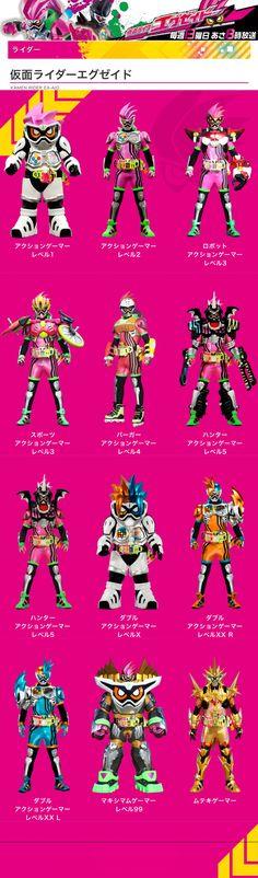 Paling Keren Gambar Kamen Rider Ex Aid Untuk Mewarnai Tasya Schuh