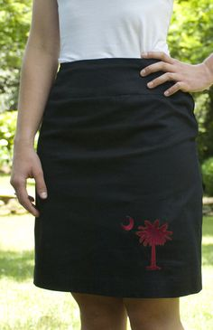 Pavao Pavao Weinstein of South Carolina Skirt! University Of South Carolina, South Carolina Gamecocks, Carolina Football, Go Gamecocks, Down South, Straight Skirt, Gamecock Nation, Dress Me Up, Fashion Forward