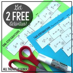 Join me in making math more FUN! By signing up for my email list now, you will receive TWO FREE Pyramid Sum Puzzle Activities. I will periodically send other news, announcements, and more exclusive freebies. I promise to never spam :) Sign-up and get your Math 8, Math Class, Math Teacher, Fun Math, Teaching Math, Math Education, Teacher Stuff, Teaching Resources, Two Step Equations