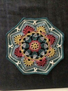 Persian Tile Crochet inspiration