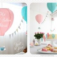 up up and away theme party IN PASTEL! totally love this!