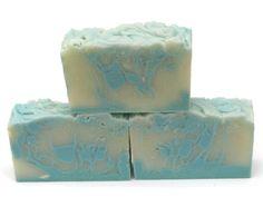 Blue Lime Handmade Vegan Unisex Soap by ArtisanBathandBody on Etsy, $4.50
