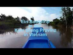 Bootstrip in der Kien Giang Provinz in Vietnam