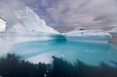 Icebergs carved by the forces of nature photographed off the coast of Antarctica - Telegraph