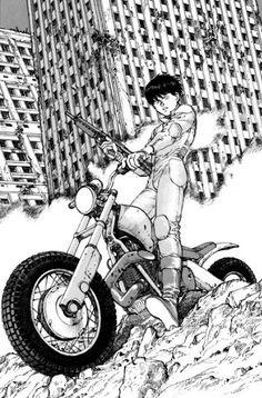 《Akira》 by 大友克洋 Katsuhiro Otomo Art Manga, Manga Artist, Comic Artist, Comic Manga, Manga Comics, Manga Akira, Image Moto, Character Art, Character Design