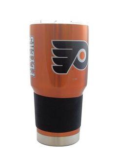 Philadelphia Flyers Travel Tumbler 30 oz Ultra Flared Orange #PhiladelphiaFlyers