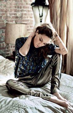 Erin Wasson for Vogue Russia #erinwasson #vogue