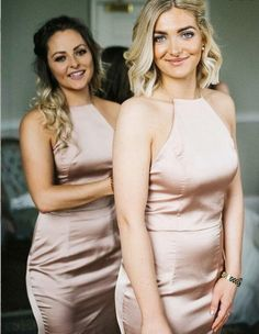 Princess Prom Dresses, Sheath Jewel Sweep Train Sleeveless Blush Satin Bridesmaid Dress, Plus Size Formal Dresses and Plus Size Party Dresses are great for your next special Occassion at cheap affordable prices The Dress Outlet. Fitted Prom Dresses, Princess Prom Dresses, Elegant Bridesmaid Dresses, Bridesmaid Dresses Online, Beautiful Prom Dresses, Cheap Dresses, Dress Formal, Dress Prom, Formal Gowns