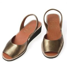 Low Cut Bronze Leather #Menorcan #Sandals by #Varca #Summer