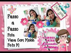 (DIY) PASSO A PASSO POTE PORQUINHO - Especial Dia das Mães #9 - YouTube