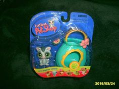 Littlest Pet Shop Sugar Glider with Pouch #214 NIP 2006 Release Retired #Hasbro #Animals #Retirement