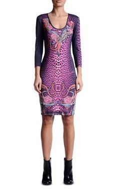 Короткое платье Для Женщин - Платья Для Женщин on Just Cavalli Online Store