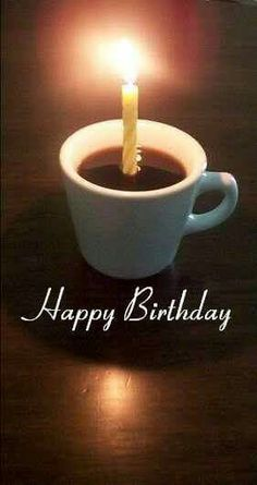Happy birthday coffee
