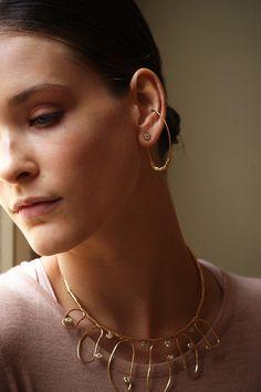Et si on donnait une nouvelle dimension aux boucles d'oreilles du moment ?