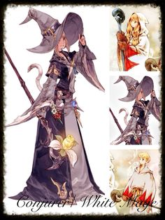 Final Fantasy 14 Cosplay Inspiration Board: Conjurer/ White Mage