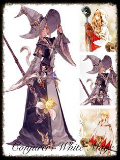 Final Fantasy 14 Cosplay Inspiration Board: Conjurer/ White Mage