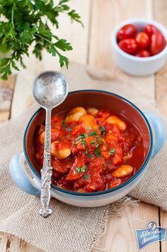 Chorizo & White Bean Stew/Biała fasola z chorizo