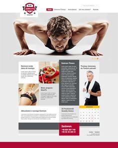 RebelFit Gym website by Tomasz Soluch, via Behance  http://healthandfitness247.co.uk http://www.facebook.com/Hnf247