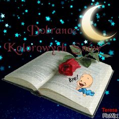 Good Night, Humor, Christmas Ornaments, Holiday Decor, Cards, Polish, Moving Pictures, People, Nighty Night