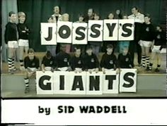 Jossy's Giants was a children's footballing comedy drama that ran on between 1986 and The show's plot centred on a boys' football team, the Glipton Giants, and their enthusiastic Geordie manager Joswell 'Jossy' Blair 80s Kids, Kids Tv, Bobby Charlton, Theme Tunes, Football Boys, Vintage Tv, Kids Shows, Teenage Years, Classic Tv