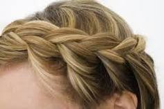 Resultado de imagen para como hacer trenzas pelo corto