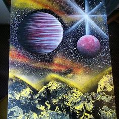 provocative-planet-pics-please.tumblr.com #2 of today and the last youll see for now! Will post more pics when Ive added all the finishing touches! Missed doing these! #starman #planets #outofthisworld #mountains #nebulas by mr.nebula https://www.instagram.com/p/BCsNQpbBCuy/