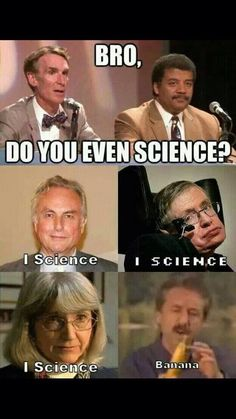 I actually think Richard Dawkins is an ass (not as much as Hitchens was, god so arrogant) but he can science.