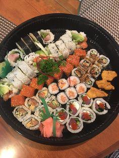 [I ate] too much sushi Food Recipes Cute Food, I Love Food, Good Food, Yummy Food, Healthy Summer Dinner Recipes, Healthy Recipes, Sushi Recipes, Food Platters, Food Goals