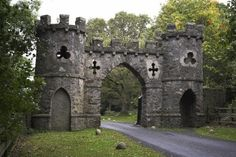 Ancient, Bryansfield Castle Gate, Ireland