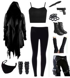 Maybe without the gun! Maybe without the gun! Cute Emo Outfits, Bad Girl Outfits, Punk Outfits, Hipster Outfits, Teen Fashion Outfits, Teenager Outfits, Grunge Outfits, Batman Outfits, Punk Fashion