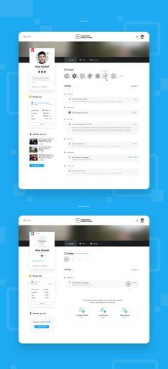Ijr profile Web Design Tools, Tool Design, App Design, Dashboard App, Profile Website, Portal Design, Best Ui Design, Ui Patterns, Ui Web
