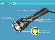 Made in China Led Mini Light Underwater (SG-D1000) - China Led Mini Light Underwater;Diving Flashlight;Underwater Flashlight, San Guan
