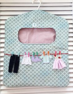 Vivartesanato - Part 4 Sewing To Sell, Sewing Tools, Free Sewing, Sewing Hacks, Sewing Crafts, Sewing Projects, Clothes Clips, Tutorial Diy, Clothespin Bag
